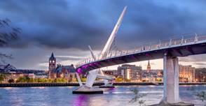 North-Ireland peace bridge