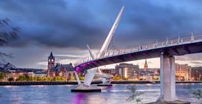 North-Ireland peace bridge
