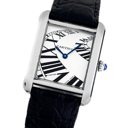 a22c5ba9b22a0 Pre Owned Cartier Tank Solo Men s Watch