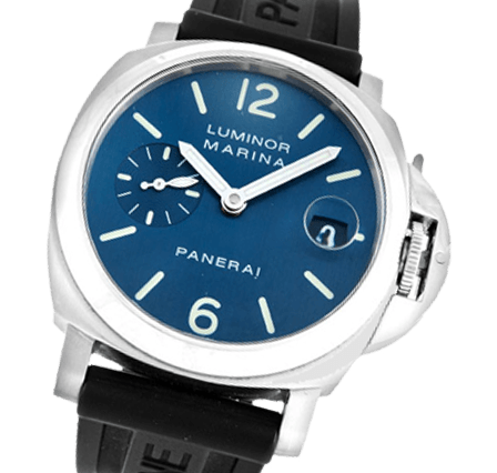 buy online 8c4bb af20a Officine Panerai Luminor Marina PAM00119 Rubber - Black Blue ...