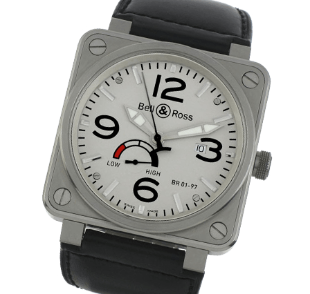 Sell Your Bell and Ross BR01-97 Steel Watches
