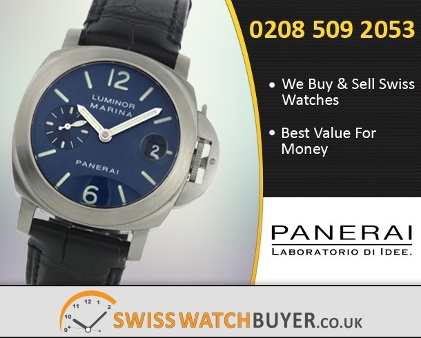 timeless design 0aca5 49fd8 Officine Panerai Luminor Marina Watch, Services & Repairs ...