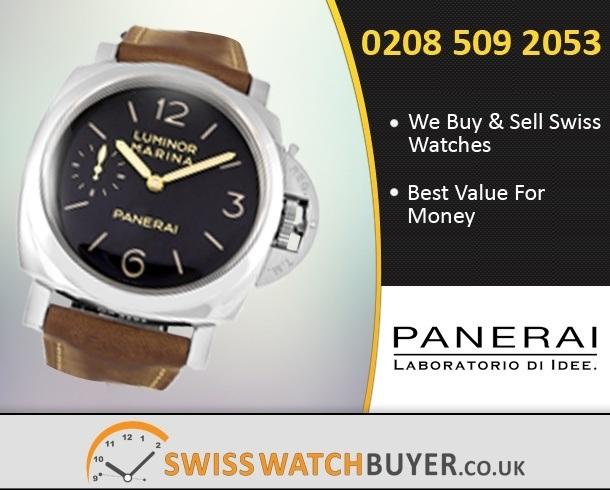 Sell Your Officine Panerai Luminor Marina Watches