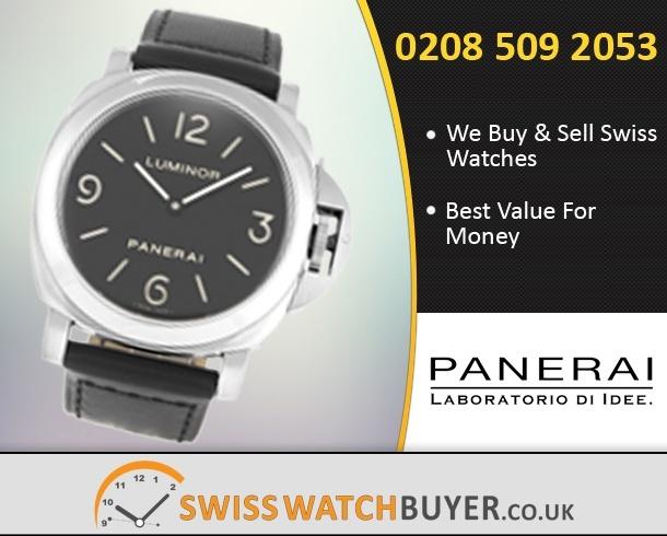Value Officine Panerai Luminor Base Watches