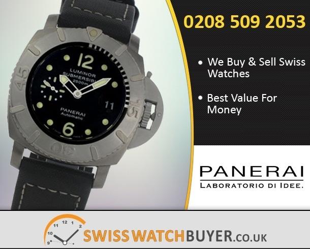 Value Officine Panerai Luminor Submersible Watches
