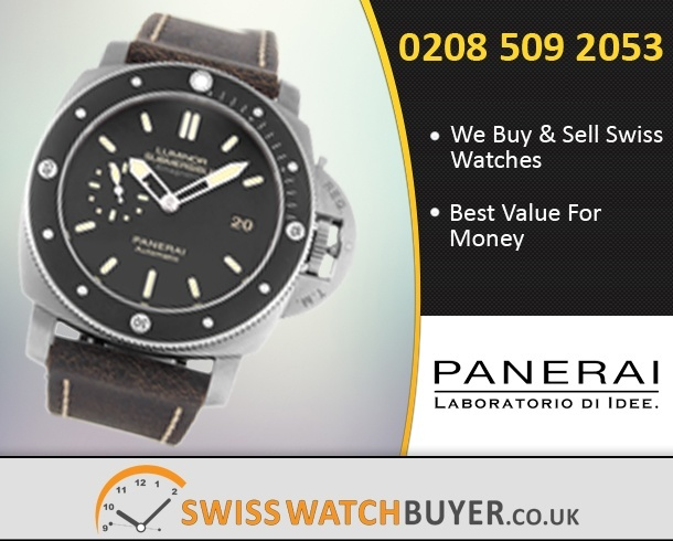 Value Officine Panerai Luminor Submersible Watches