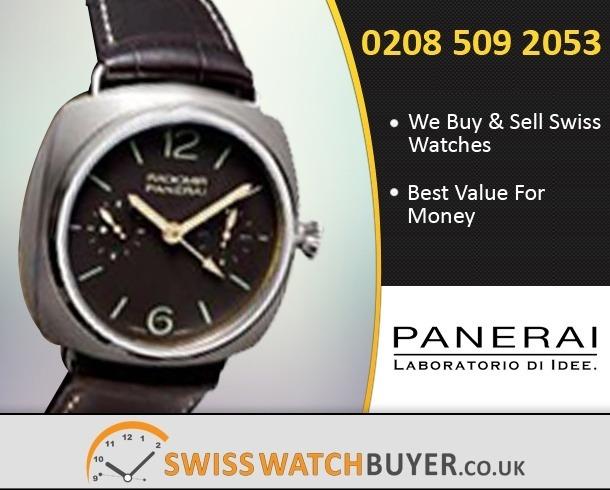 Value Officine Panerai Manifattura Radiomir Watches