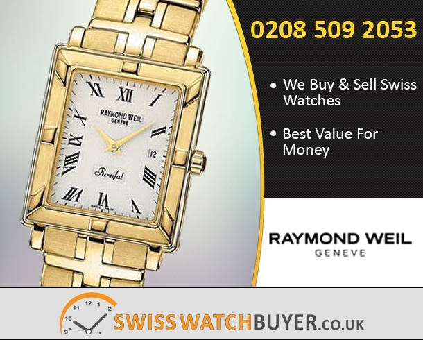 Sell Your Raymond Weil Gold Collection Watches