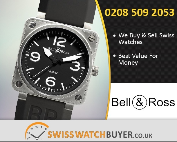 Buy or Sell Bell and Ross BR01-94 Chronograph Watches