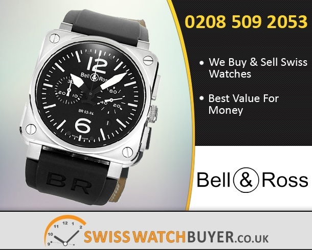 Pre-Owned Bell and Ross BR03-94 Chronograph Watches