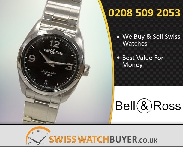 Sell Your Bell and Ross Mystery Diamond Watches