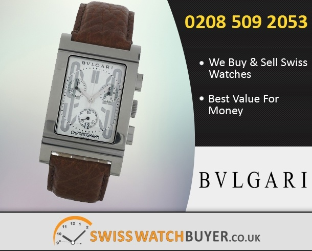 Sell Your Bvlgari Rettangolo Watches