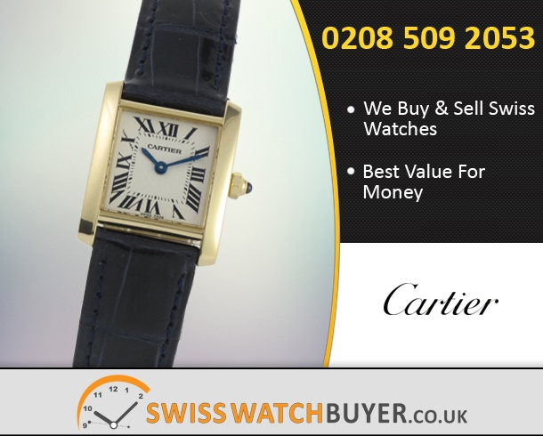 2e12a81680057 Cartier Tank Francaise Ladies Watches For Sale