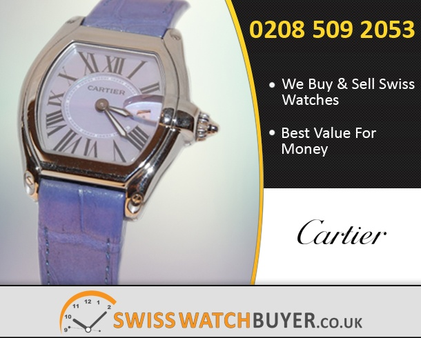 Sell Your Cartier Roadster Watches