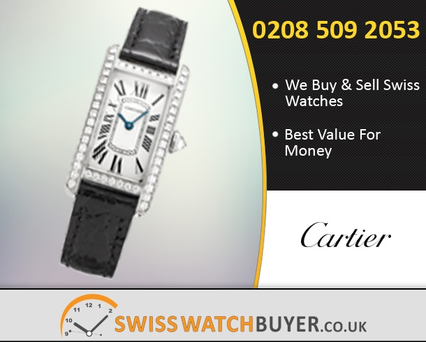 Sell Your Cartier Tank Americaine Watches