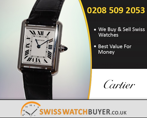 Buy Cartier Tank Louis Watches