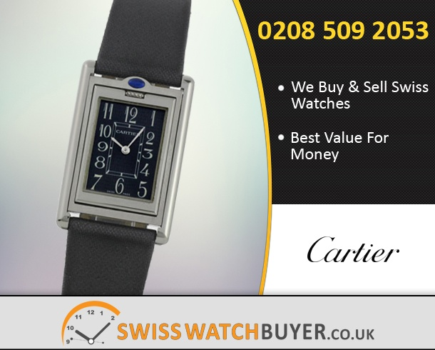 Sell Your Cartier Tank Basculante Watches