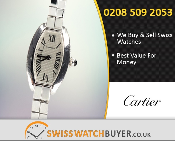Buy Cartier Lanieres Tank Allongee Watches