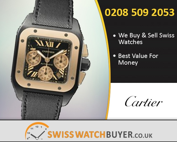 cartier santos    swiss  buyer uk
