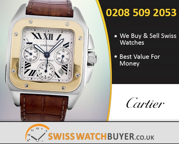 Sell Your Cartier Santos 100 Watches