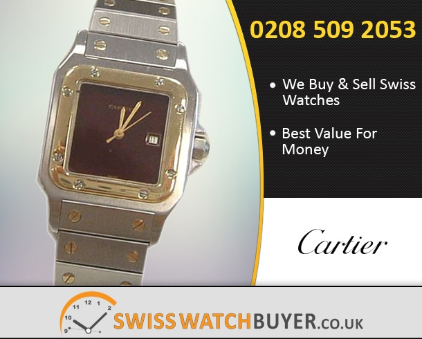 Sell Your Cartier Santos Watches