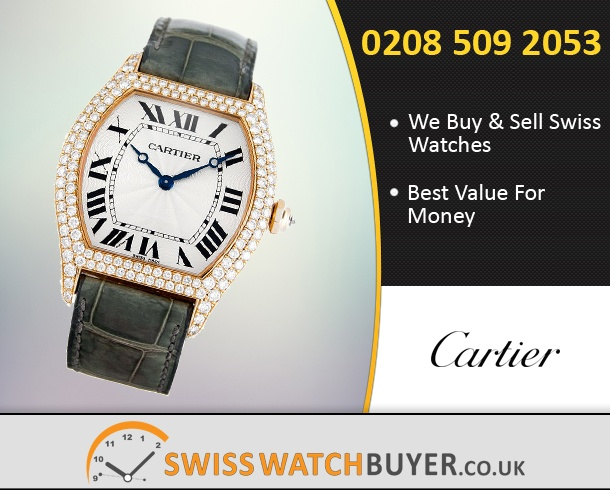 Sell Your Cartier Tortue Watches