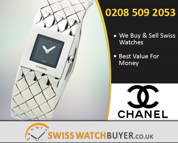 Buy or Sell CHANEL Matelassee Watches