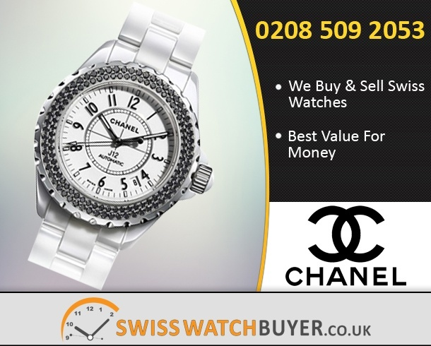 Sell Your CHANEL J12 Watches