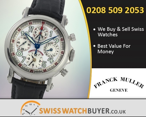 Sell Your Franck Muller Chrono Banker Watches