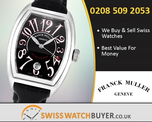 Sell Your Franck Muller Conquistador Watches
