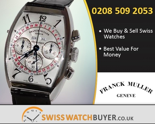 Sell Your Franck Muller Master Calender Watches