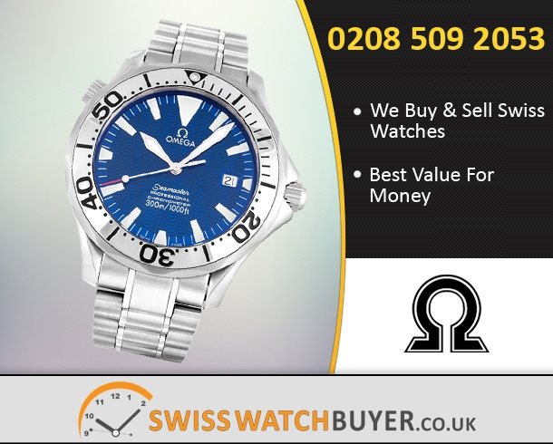 Sell Your OMEGA Seamaster 300m Watches