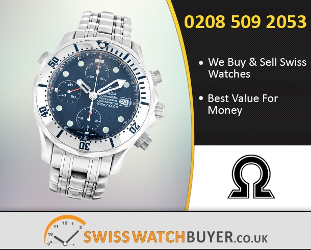 Buy OMEGA Seamaster Chrono Diver Watches