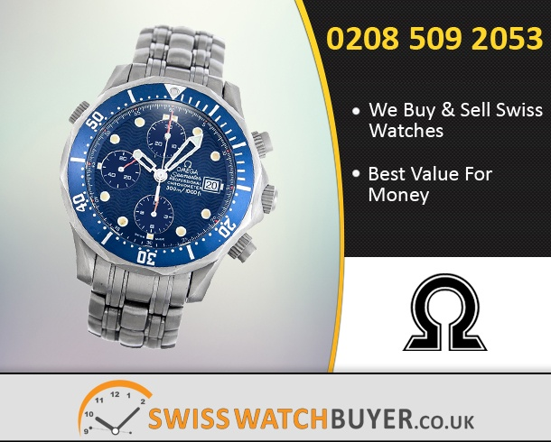 Sell Your OMEGA Seamaster Chrono Diver Watches
