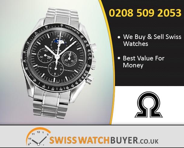 Buy OMEGA Speedmaster Moonphase Watches