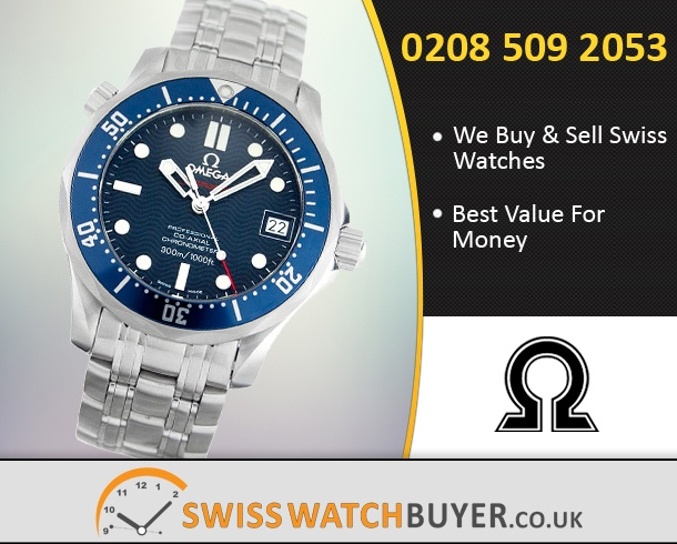 Buy OMEGA Seamaster 300m Mid-Size Watches