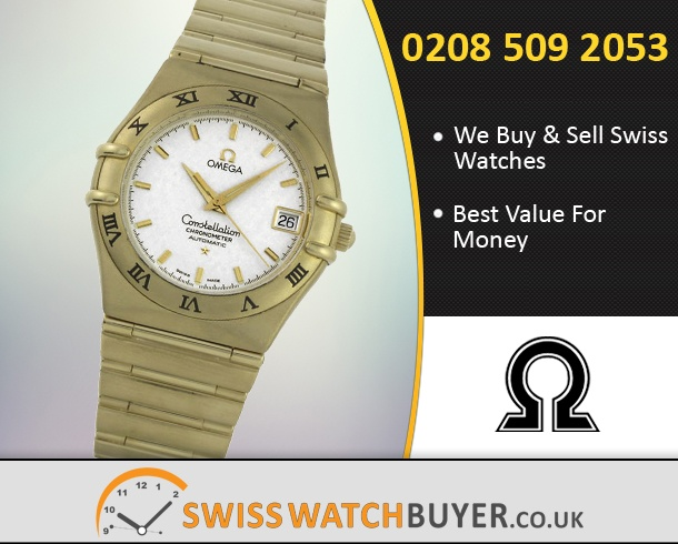 Buy OMEGA Constellation Watches