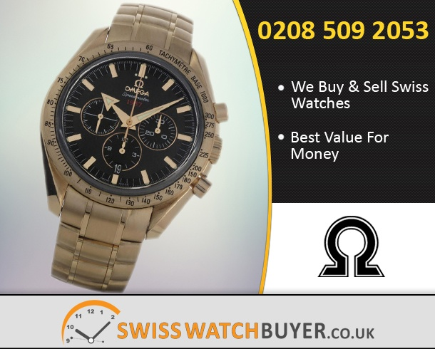 Sell Your OMEGA Speedmaster Broad Arrow Watches