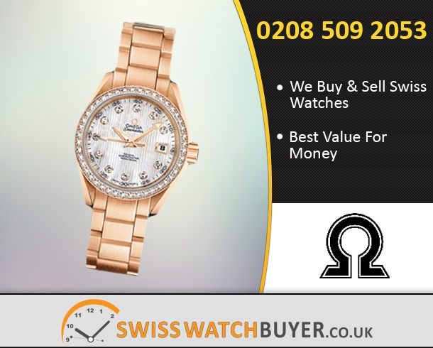 Buy or Sell OMEGA Aqua Terra 150m Ladies Watches
