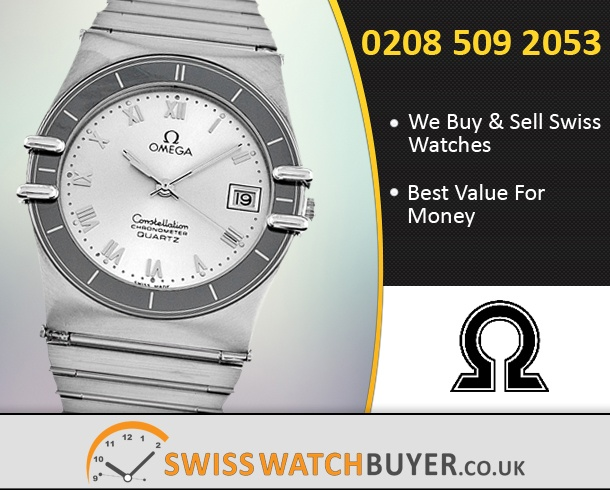 Buy OMEGA Constellation Chronometer Watches