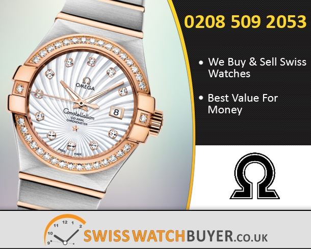 Buy OMEGA Constellation Chronometer Ladies Watches
