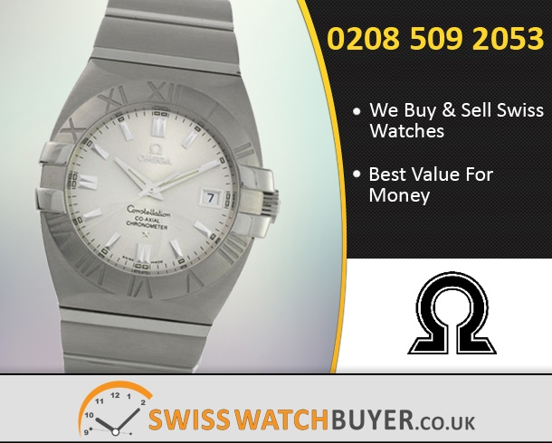 Buy OMEGA Constellation Double Eagle Watches