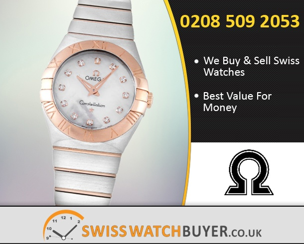 Buy OMEGA Constellation Ladies Watches
