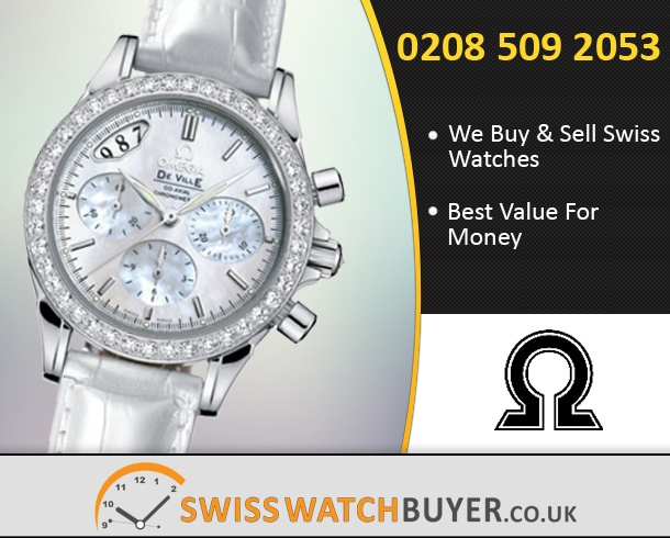 Sell Your OMEGA De Ville Co-Axial Ladies Watches
