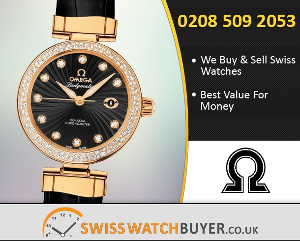 Sell Your OMEGA De Ville Ladymatic Watches