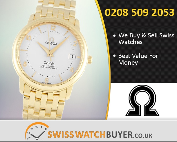 Sell Your OMEGA De Ville Prestige Watches