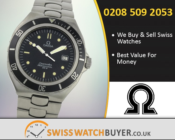 Sell Your OMEGA Seamaster 200m Watches