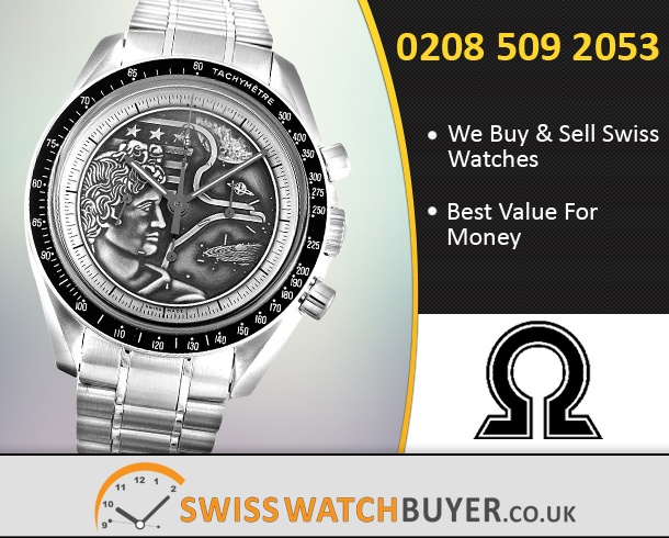 Sell Your OMEGA Speedmaster Apollo Watches