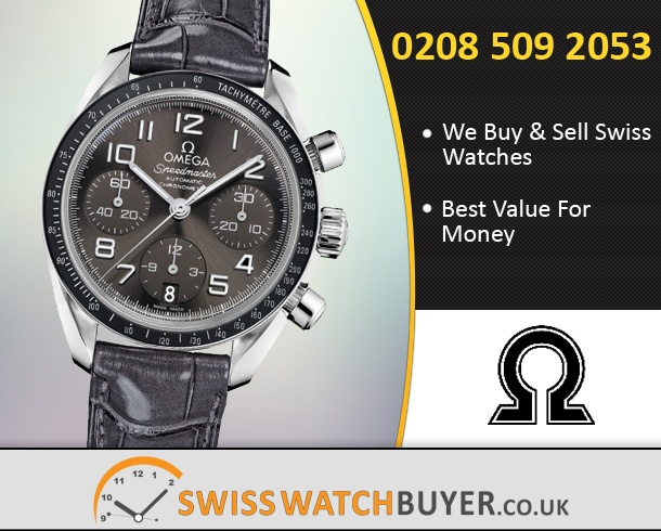 Sell Your OMEGA Speedmaster Automatic Chronometer Watches