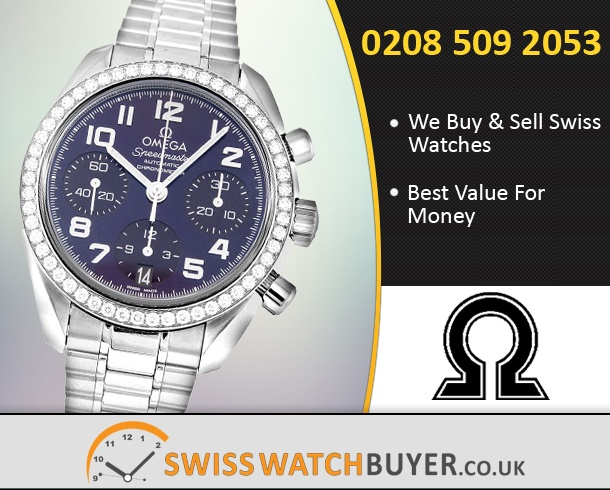 Buy OMEGA Speedmaster Automatic Chronometer Watches